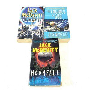 Jack Mcdevitt Books Deepsix Moonfall Engine Sci Fi